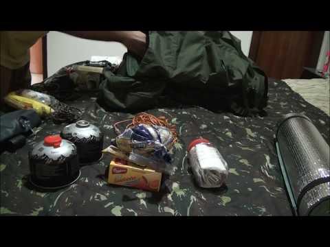 Como organizar a mochila de camping