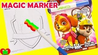 Paw Patrol Imagine Ink Coloring Magic Marker and Surprises