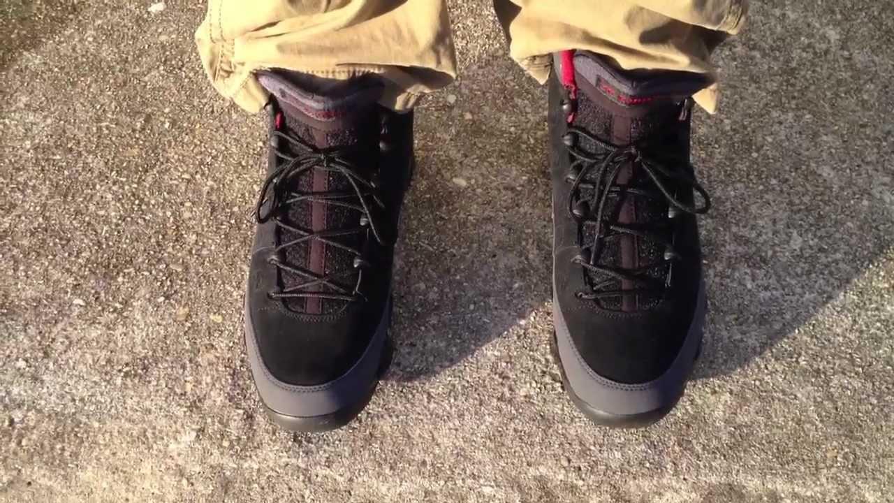Air Jordan 9 IX Retro Charcoal on feet - YouTube