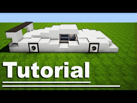 Minecraft: How to Make a Sport Car -  Lamborghini / Ferrari [ VehicleTutorial ] For Modern House