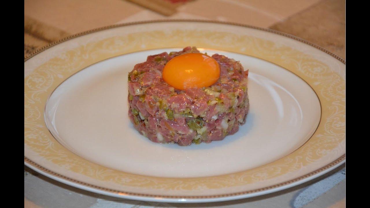 Тартар из телятины рецепт с фото