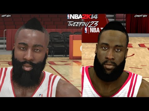 NBA 2K14 - Next Gen vs Current Gen Face Comparisons   PS4 & XBOX ONE vs PS3 & XBOX 360
