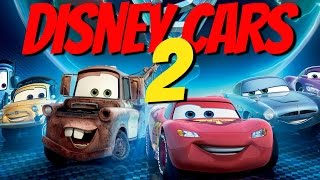 Disney Cars 2 Full Length Video Game Walkhthrough HD All English Disney Game