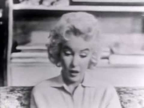 Marilyn Monroe Rare Live Television Appearance -