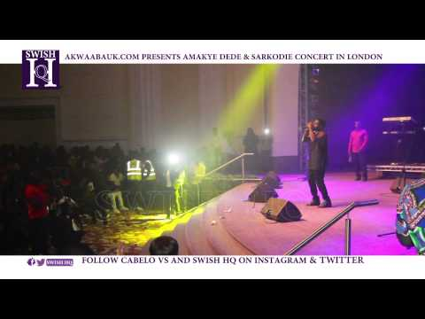 SARKODIE UK SARKOLOGY FULL CONCERT LONDON @SWISHHQ