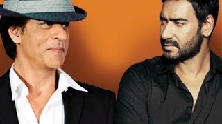 Shahrukh khan Hugs it out With Ajay Devgan