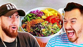 Who Can Make The Perfect SALAD?! *Team Alboe Food Cook Off Challenge*