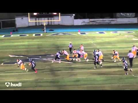Ryan Monteyne #83 Junior Highlights 2014 - Wayne Valley High School Football