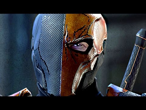 BATMAN Vs. DEATHSTROKE Full Boss Fight - Batman Arkham Origins