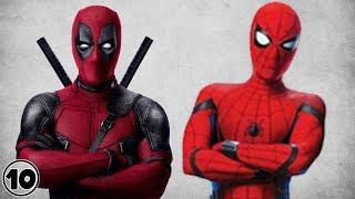 Top 10 Similarities Between Deadpool & Spider-Man