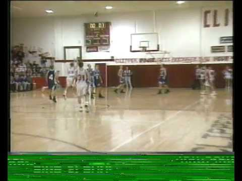 Columbiana High School vs. Lisbon Basketball News Highlights 1995