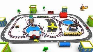 Choo Choo Train - train - trains for kids - train cartoon - toy factory - train videos