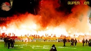 ARIS vs Olympiakos (2009) || Super3 Pyroshows || no.2