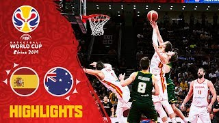 Spain v Australia - Full Game Highlights - Semi-Final - FIBA Basketball World Cup 2019