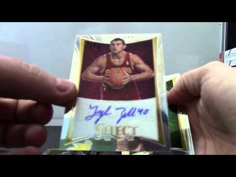 SlicBob's 2012/13 Select Basketball Box Break