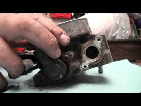 2001 GMC 1500 5.3 throttle body clean and idle air control valve replacement