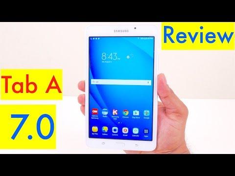 Samsung Galaxy Tab A 7.0 Review - 2016 model