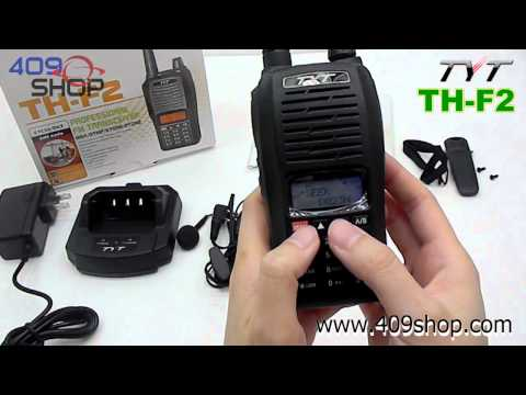 TYT TH-F2 UHF 400-470Mhz Two-way radio
