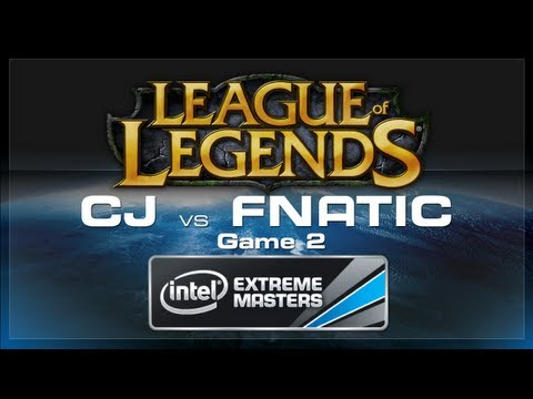 Fnatic vs CJ Entus IEM Game 2 Cologne League of Legends 2012