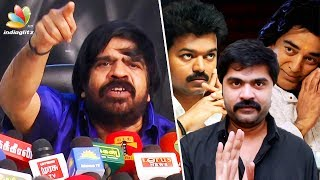 Simbu was the ONLY one who supported Vijay & Kamal : T Rajendar Speech | Political Entry