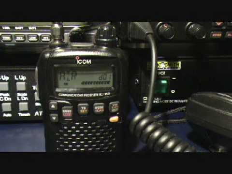 Icom ic-r5 communications receiver