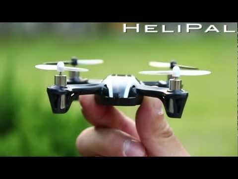 HeliPal.com - Hubsan H107 X4 Mini Drone (2.4Ghz Edition) Test Flight