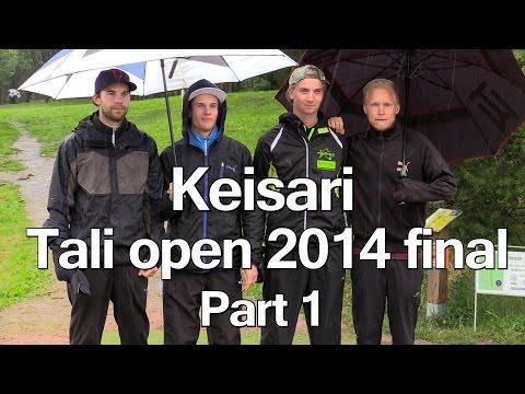 lcgm8 Disc Golf - Keisari Tali Open 2014 final pt1