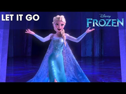 Frozen Let It Go Sing Along Official Disney Hd