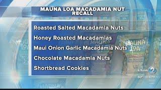Mauna Loa Macadamia Nut products recalled over possible E. coli contamination