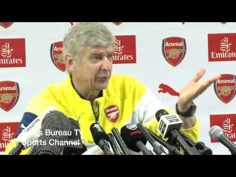 Arsene Wenger pre Arsenal vs Stoke FULL PRESS CONFERENCE