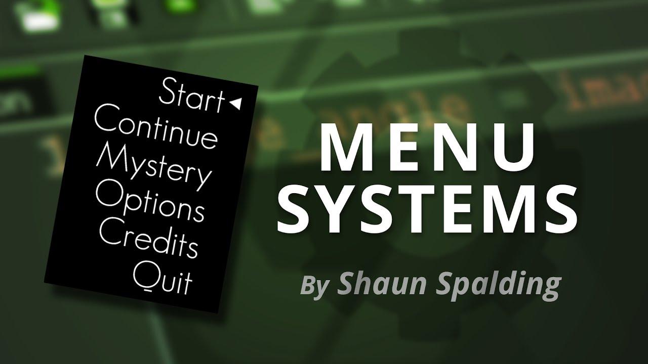 Menu Game Maker Game Maker Studio Menus