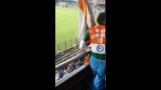 Sudhir sachin tendulkar fan at wankhede stadium