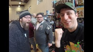 * Michigan's SMALLEST Comic Con Tour -  Cosplay  - 80s TOYS - BOBA FETT