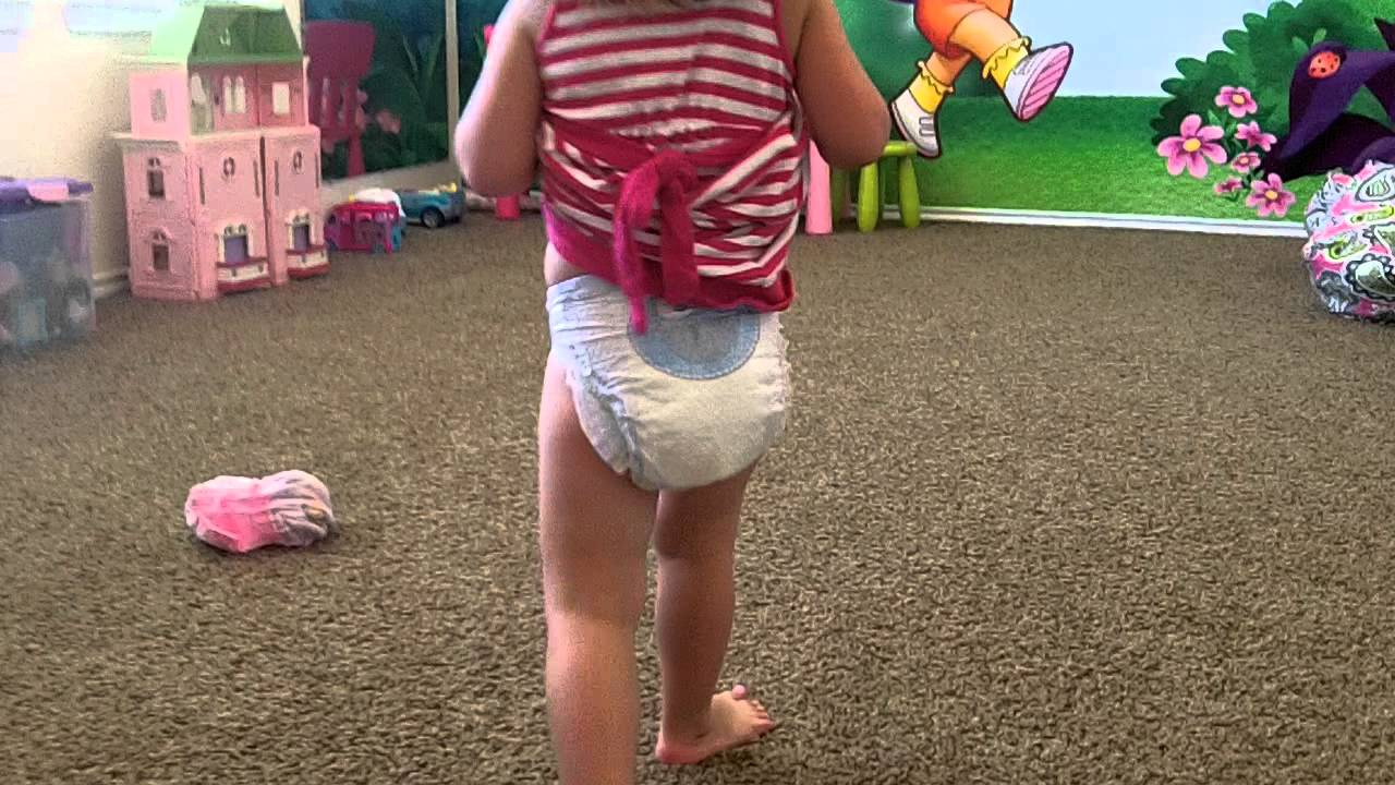 adult wearing pampers cruizers