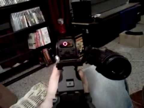 Hybrid Sight Mw3 Mw3 Real Hybrid Scope on a ak