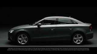 A moment of clarity - The Audi A3 Sedan 2.0 TFSI