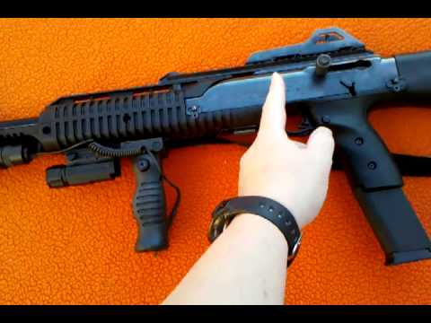 Hi-Point Review 995TS 9mm Luger Rifle With Accessories