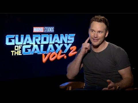 GUARDIANS OF THE GALAXY VOL. 2 Interviews - Pratt, Russell, Gunn, Saldana, Rooker, Bautista