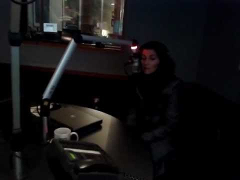 Nelly in Kool FM @ Victoria, her home town, Canada