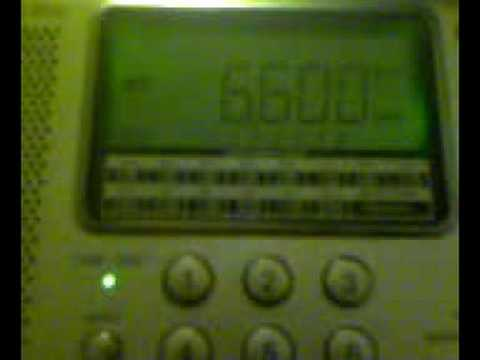 Odd jamming on 6600kHz
