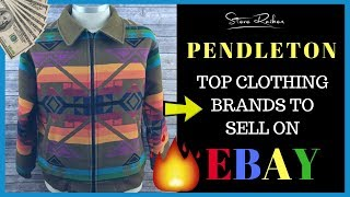 Huge PROFITS! Selling Pendleton CLOTHING on eBay from Thrift Stores 💰💰