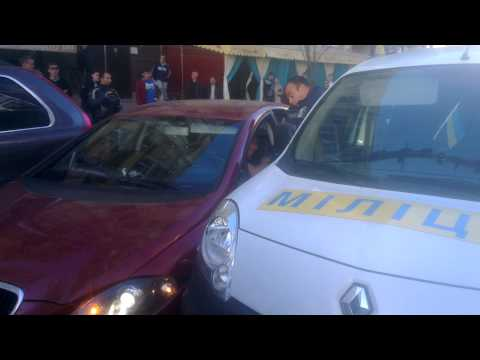 Задержание Вооруженного мужчины Киев, ТРЦ Гуливер, 28.09.2014