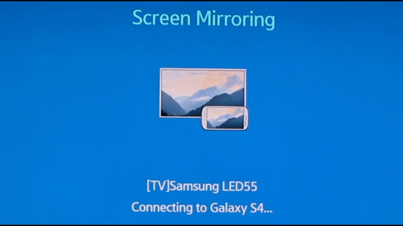 How to use screen mirroring on your android phone to your for Mirror your android screen to a pc