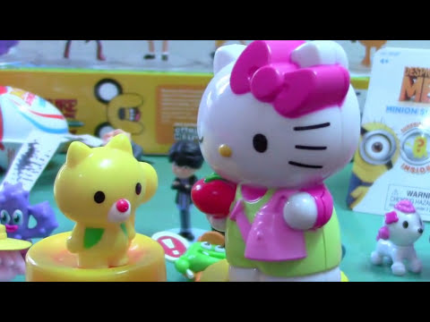 Hello Kitty Surprise Eggs Toy Story Adventure Time Moshi Monsters Minions Kinder Joy Surprise Eggs