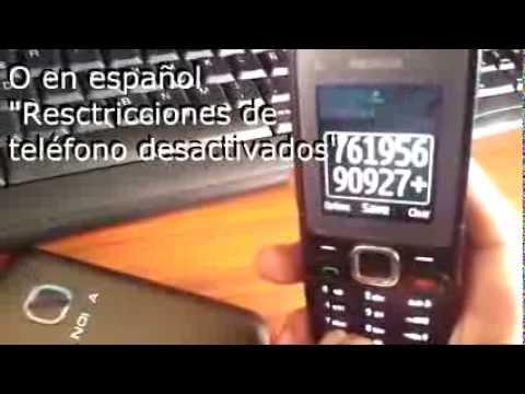 Desbloquear/Liberar/Unlock Nokia C1 Fido con GSMLiberty.net