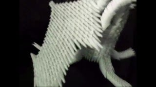 Origami: 3d White Dragon Prototype