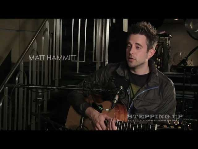 "Matt Hammit | Inspiration Behind ""Lead Me"" 