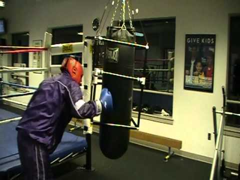 Manny PaCquiao heavy bag training tips By coach Carlos Garcia Image 1