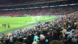 Yaya Touré winning penalty vs Liverpool - League cup final