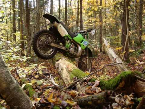 Kawasaki KDX 200 1989 Video